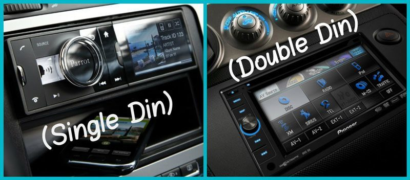 Compare double din head unit and single din head unit