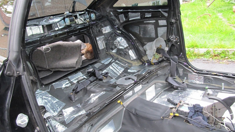 how to install auto insulation sound deadening to make your car quieter mr vehicle. Black Bedroom Furniture Sets. Home Design Ideas